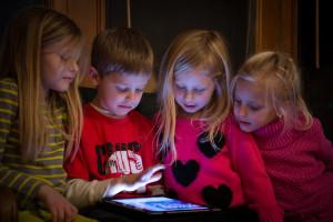 foto kids scherm